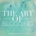 art of blogging named 300