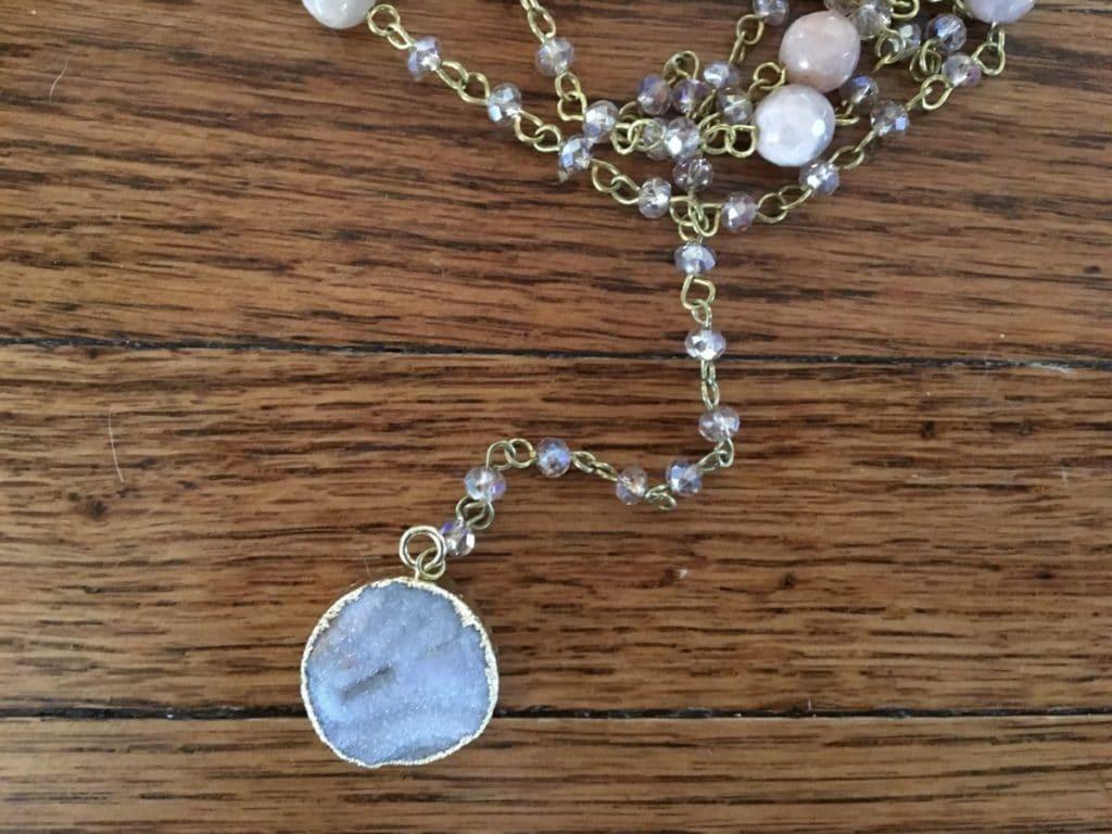 Trunk Club | Stone Pendant Y Necklace